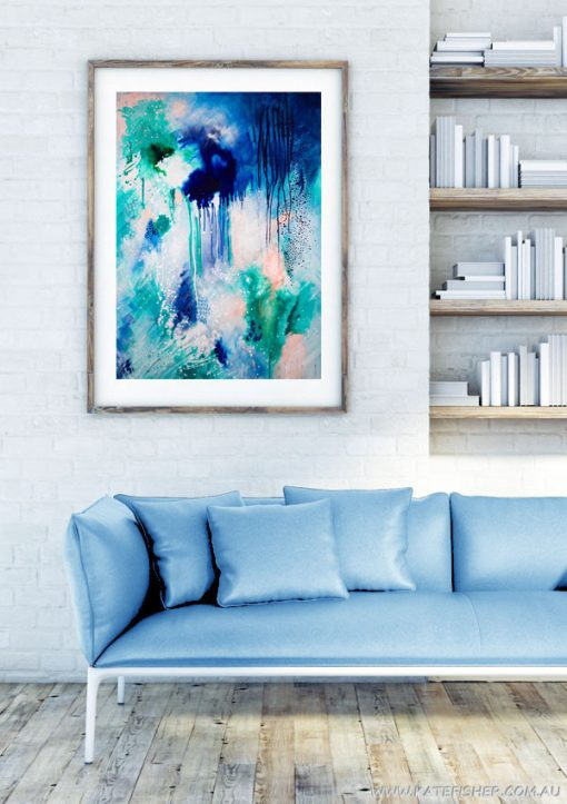 Phtalo_Atmosphere_1_abstract_wall_art_print_modern_lving_room_Kate_Fisher