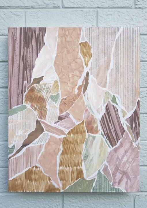 Kate Fisher art Dusk #1 original abstract artwork