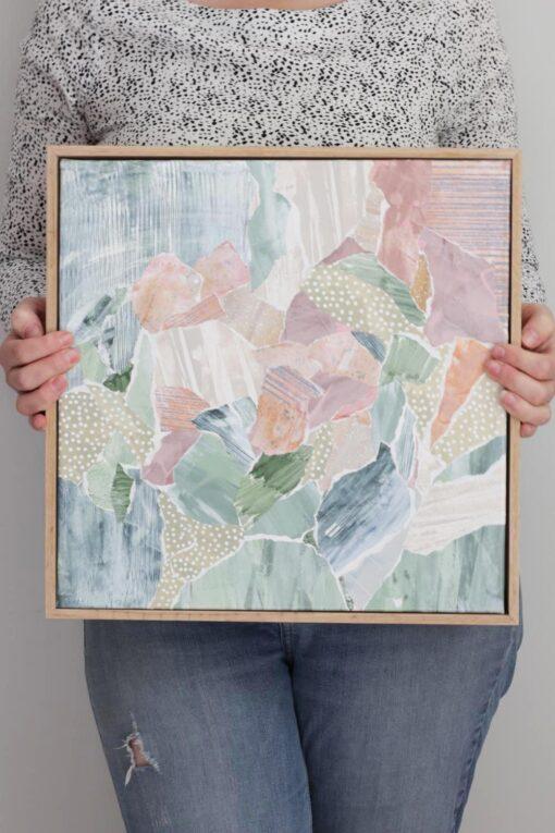 Kate Fisher art Little Mini #2 original abstract artwork