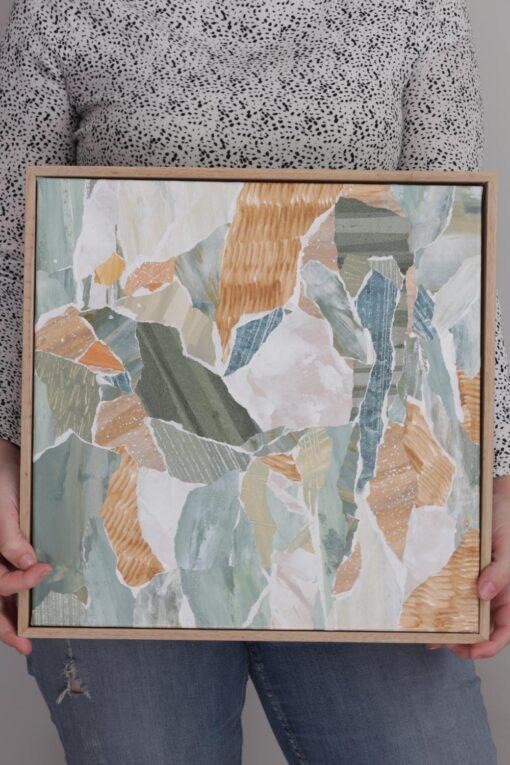 Kate Fisher art Little Mini #3 original abstract artwork